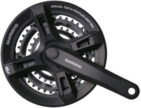 Система Shimano Tourney FC-M171 (3x8-7-6sp/48-38-28H/165mm)